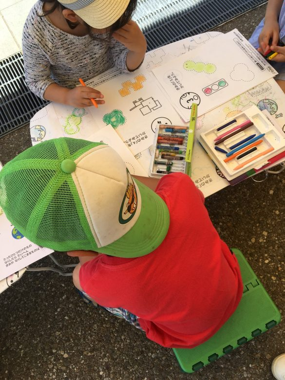 Amazing kids' designs at the huge book festival in Tokyo