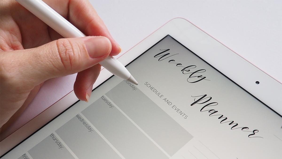主婦にこそオススメ! iPad2018 + Apple Pencilは最高の組み合わせ